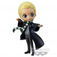 Figure Statue 14cm DRACO MALFOY Special Color Harry Potter QPOSKET Hogwarts Magic Spell Wand Banpresto Version B