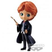 Figura Statuetta 14cm RON WEASLEY Colore Speciale Harry Potter QPOSKET Banpresto Hogwarts Magia Bacchetta Versione B