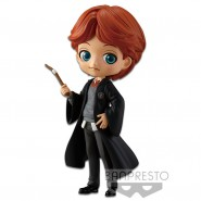 Figure Statue 14cm RON WEASLEY Normal Color Harry Potter QPOSKET Hogwarts Magic Spell Wand Banpresto Version A
