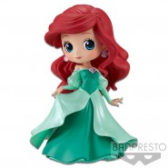 Figure Statue 14cm ARIEL Princess Dress Green QPOSKET Banpresto DISNEY Version A