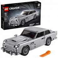 Model Car Spy Agent 007 ASTON MARTIN DB5 Playset LEGO EXPERT 10262