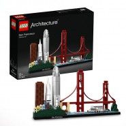 Building Playset SAN FRANCISCO California LEGO Architecture 21043