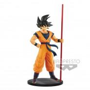 DRAGONBALL Figura Statua 23cm GOKU Son Gokou Con Bastone Limited Super Broly Film Banpresto Japan