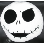 NIGHTMARE BEFORE CHRISTMAS Cuscino Tondo Faccia Jack Skellington 40cm Originale DISNEY SEGA