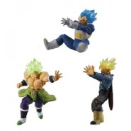 DRAGONBALL SUPER 3 FIGURES Versus Battle Figures SERIES 09 Bandai Gashapon