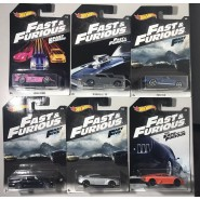COMPLETE BUNDLE SET 6 Car Models FAST & FURIOUS 1/64 6cm ORIGINAL Mattel Hot Wheels DieCast