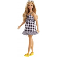 BARBIE FASHIONISTAS Square Dress Black And White 30cm FJF56 Number 96 Mattel