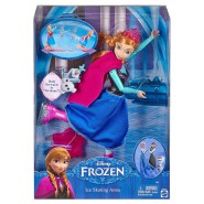 ANNA Ice Skating 30cm Princess From FROZEN Disney CBC62 Mattel