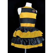 COSTUME Carnival Disguise LOL QUEEN BEE Girl One Size 6-9 Years With Gift 100% Original