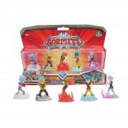 GORMITI Blister Box 5 Figures HEROES HERALD PACK ORIGINAL Giochi Preziosi GRM0400