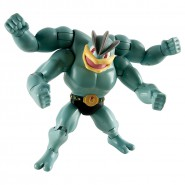 POKEMON Rara Figura Action 12cm MACHAMP Originale TOMY Mackogneur Machomei