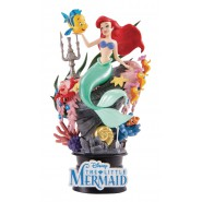 DIORAMA Statue ARIEL LITTLE MERMAID 15cm Original DISNEY Beast Kingdom D-Select 012