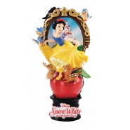 DIORAMA Statue SNOW WHITE Seven Dwarfs 15cm Original DISNEY Beast Kingdom D-Select 012
