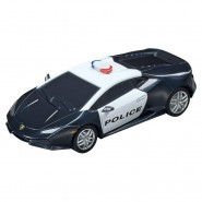 Model LAMBORGHINI Huracan Police LP610-4 Scale 1:43 10cm Track CARRERA GO 20064098