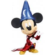 TOPOLINO Apprendista Stregone Mago FANTASIA Mickey Mouse Figura 20m METALLO Originale JADA Metalfigs D6 Collezione DieCast