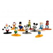 Set 10 Mini Figure METALLO 4cm Qui Quo Qua Animal Peter Pan Originali JADA NANO Metalfigs DISNEY Pixar 99350