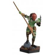HOMEWORLD PREDATOR Figura Resina Metallica 13cm da Alien & Predator Scala 1/16 Serie Eaglemoss HERO Collector