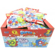 SUPERZINGS BOX 30 Sachet with 2 Characters Each ORIGINAL Super Zings Rivals of Kaboom Serie 1