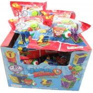 SUPERZINGS BOX 12 Sachets with 2 Characters + 2 Hideouts Each ORIGINAL Super Zings Rivals of Kaboom Serie 1