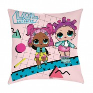 L.O.L. SURPRISE Original PILLOW 40x40cm TWO DOLLS Official