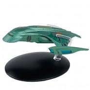STAR TREK ROMULAN SHUTTLE Nave Spaziale 13cm Verde Modello DieCast EAGLEMOSS