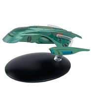 STAR TREK ROMULAN SHUTTLE Starship 13cm Green Model DieCast EAGLEMOSS