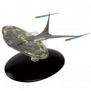 STAR TREK ENTERPRISE Nave Spaziale Uss NCC 1701-J Piatta 14cm Modello DieCast EAGLEMOSS