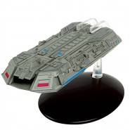 STAR TREK FEDERATION HOLOSHIP Starship 13cm Model DieCast EAGLEMOSS