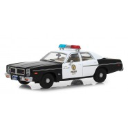 DieCast Model POLICE CAR Dodge Monaco 1/43 13cm Movie TERMINATOR Original GREENLIGHT