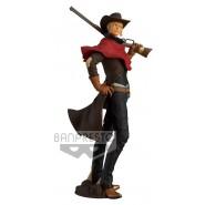 ZORO RORONOA Figura Statua 21cm ONE PIECE TREASURE CRUISE World Journey Vol.1 Cowboy BANPRESTO