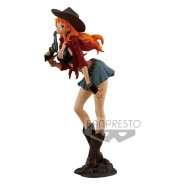 NAMI Figura Statua 19cm ONE PIECE TREASURE CRUISE World Journey Vol.1 Cowboy BANPRESTO