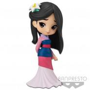 Figura Statuetta 14cm MULAN Vestito Chiaro QPOSKET Banpresto DISNEY Characters Versione B
