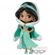 Figura Statuetta Collezione JASMINE 7cm WINTER COSTUME Disney ALADDIN PETIT QPOSKET Banpresto