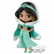 Figure Statue JASMINE  Aladdin 7cm (3'') WINTER COSTUME Disney PETIT QPOSKET Banpresto