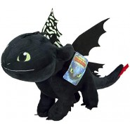 DARK FURY Dragon TOOTHLESS PLUSH 40cm Wings Glow in the Dark from DRAGON TRAINER Part 3 Movie 2019 ORIGINAL Dragons