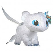 LIGHT FURY Female White Dragon PLUSH 40cm Wings Glow in the Dark from DRAGON TRAINER Part 3 Movie 2019 ORIGINAL Dragons