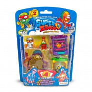 SUPERZINGS Blister HIDEOUT Box 4 random FIGURES 2 Hideouts Superblaster SERIES 2 ORIGINAL Super Zings