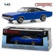 Model Car Dennis Guilder's 1968 DODGE CHARGER Blue Christine 1/43 12cm Greenlight Hollywood