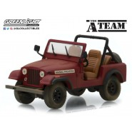 Model 1981 JEEP CJ-7 From TV-Series A-Team Animal Preserve Scale 1/43 DieCast Greenlight