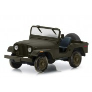 Model JEEP CJ-5 From TV-Series A-Team Dark Green Scale 1/43 DieCast Greenlight