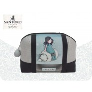 GIRL with BEAR Official POCHETTE BAG 21x15x9cm Original SANTORO GORJUSS