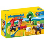 Playset PETTING FUN ZOO Original  PLAYMOBIL 1-2-3 Code 6963