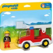 Playset LADDER UNIT FIRE TRUCK Original  PLAYMOBIL 1-2-3 Code 6967