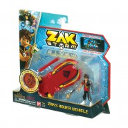 ZAK STORM Playset VEHICLE Basic HOVER CRAFT with FIGURE Original BANDAI