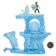 ZAK STORM Playset SINO ISLAND with FIGURE Original BANDAI
