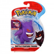 POKEMON Mini Collector BATTLE Figure GENGAR ECTOPLASMA 9cm Original WCT