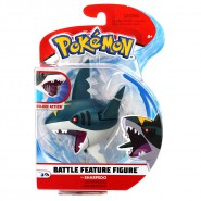 POKEMON Mini Collector BATTLE Figure SHARPEDO Shark TOHAIDO 9cm Original WCT