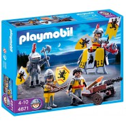 Playset MEDIEVAL KNIGHTS OF THE LEON Original PLAYMOBIL 4871