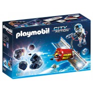 Playset ANTI METEOROIDS SATELLITE Original PLAYMOBIL City Action 6197