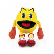 Plush PAC-MAN 30cm Standing Opened Mouth Original Moya